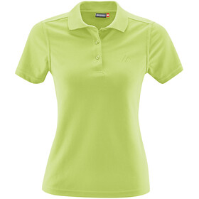 Maier Sports Ulrike Polo Shirt Women sap green